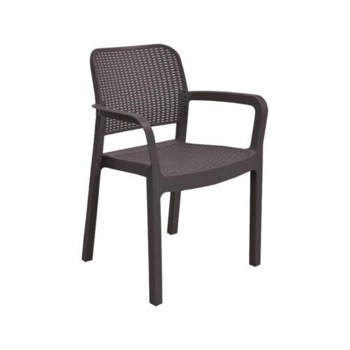 Allibert samanna kartámaszos műanyag kerti szék