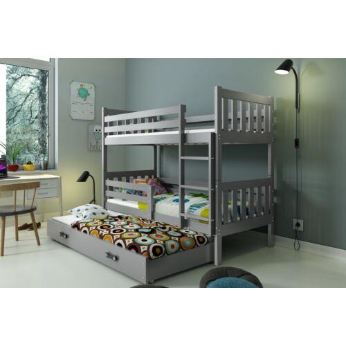 Carino emeletes ágy kihúzható ággyal