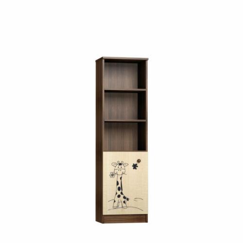Faktum Makaó - Keskeny nyitott tároló (zsiráf mintával)
