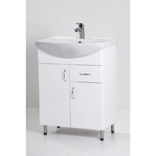 Standard 65F mosdós fürdőszoba szekrény mosdókagylóval