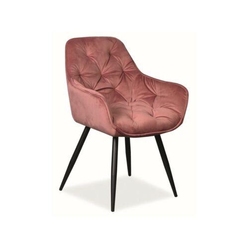 CHERRY VELVET szék rózsaszín antik BLUVEL 52