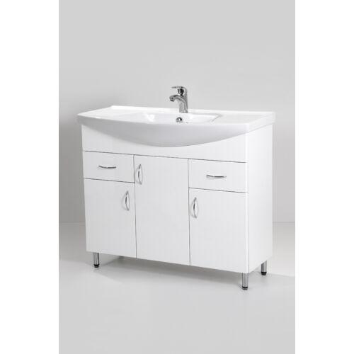 Standard 100 mosdós fürdőszoba szekrény mosdókagylóval