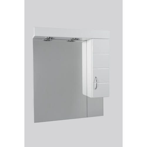 Standard 55SZ mart fürdőszobai tükör polcos kis szekrénnyel