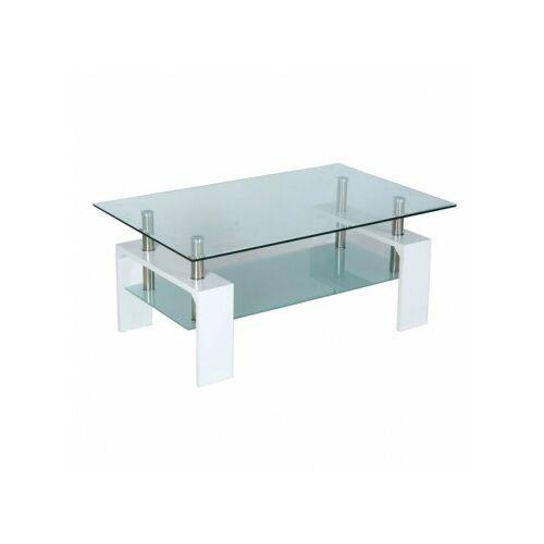 dohányzóasztal INTRO fehér