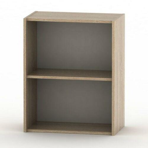 Alacsony szekrény sonoma tölgyfa TEMPO ASISTENT NEW 010