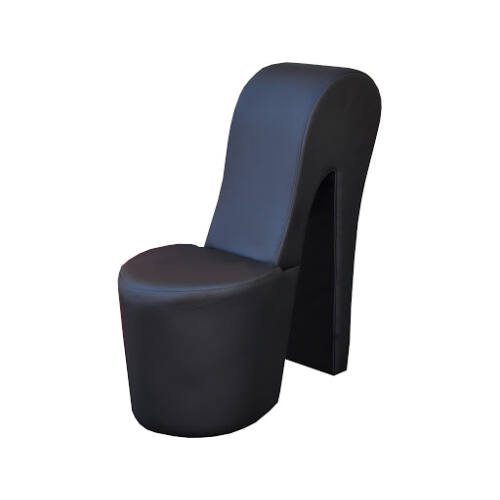 Bota futurisztikus dizájnú fotel FEKETE színben