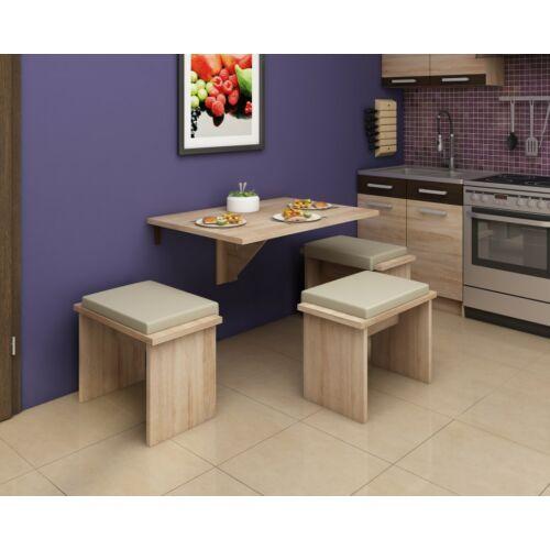 EXPERT 8 összecsukható konyhai asztal