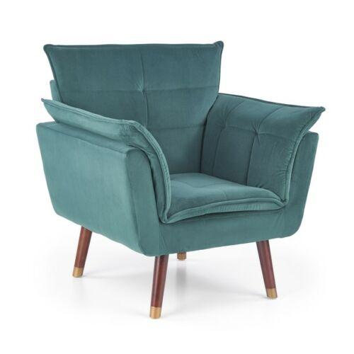 REZZO pihenő fotel sötét zöld