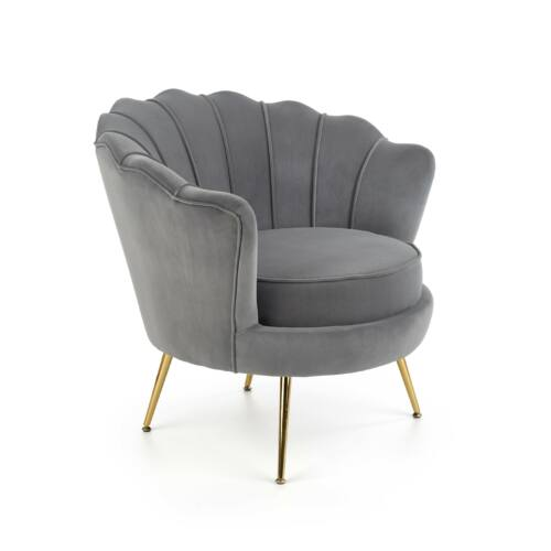 Amorinito fotel szürke   arany
