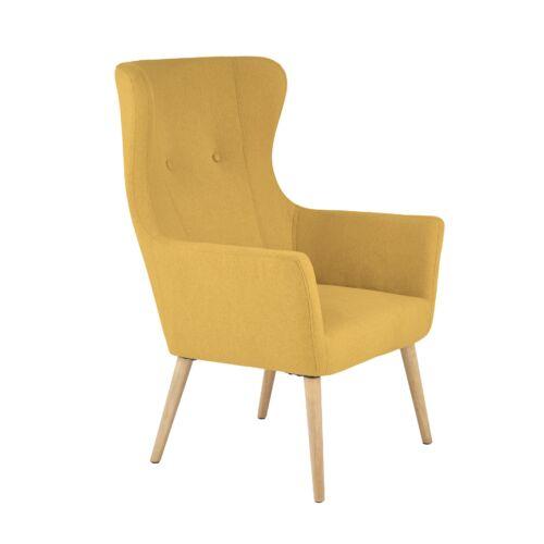 Cotto fotel mustársárga