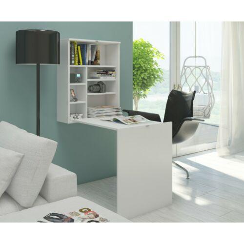 HIDE lehajtható íróasztal fehér