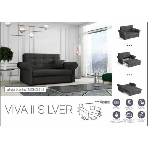 VIVA SILVER II. előre nyíló rugós kanapé