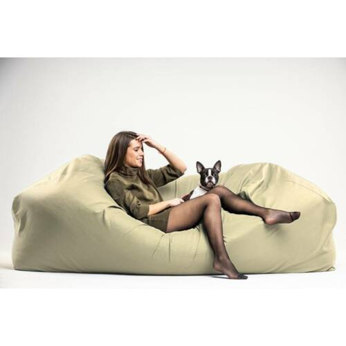 Drapp Relax babzsák kanapé