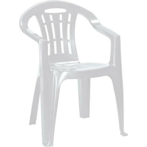 Curver mallorca kartámaszos műanyag kerti szék