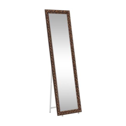 Dizájnos tükör barna PANTOS