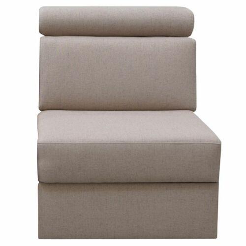 1-személyes kanapé 1 BB rendelésre a luxus ülőgarnitúrához bézs MARIETA