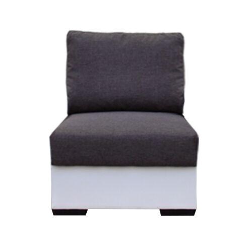 1-személyes kanapé fehér szürke OREGON 1SED-06