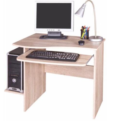 PC asztal sonoma tölgyfa MELICHAR