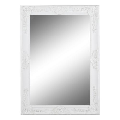 Tükör fehér keret MALKIA TYP 9