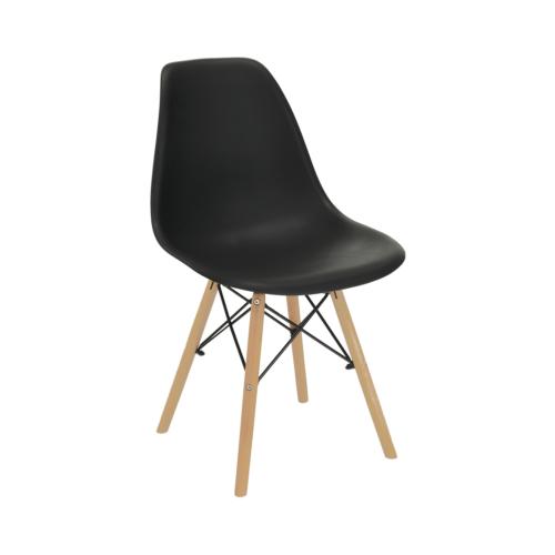 Modern szék bükk és  fekete PC-015 CINKLA 2 NEW