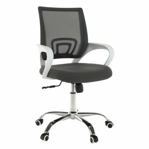 Irodai szék szürke fehér SANAZ TYP 2