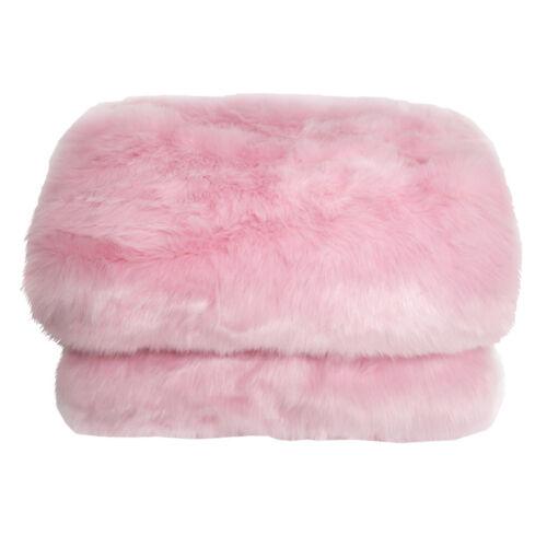 Szőrmés pléd rózsaszín 150x170 EBONA TYP 7