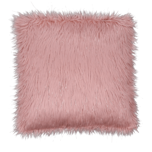 Párna rózsaszín arany-rózsaszín 45x45 FOXA TYP 3