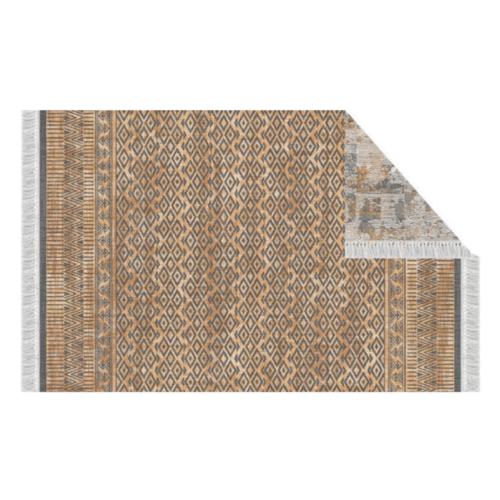 Szőnyeg,  minta/ barna,, 180x270, MADALA