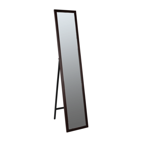 Tükör barna színű fakerettel MALKIA TYP 4