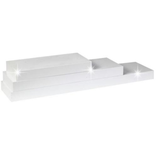 Polc fehér fényes 80x25 GANA FY 11044-4