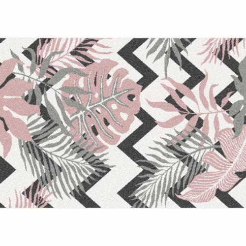 Szőnyeg, leveles minta, 100x150, SELIM