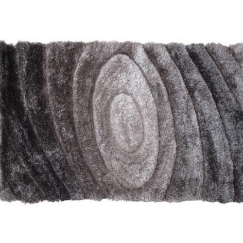 Szőnyeg szürke minta 80x150 VANJA