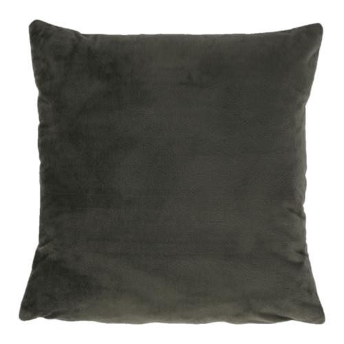 Párna, selymes szövet sötétzöld, OLAJA TYP 11