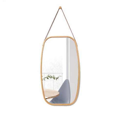 Tükör természetes bambusz LEMI 3