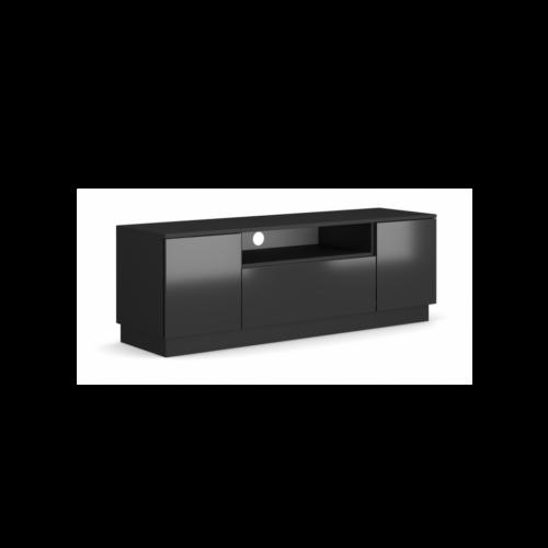 rtv BOX + led | fekete/fekete fényes