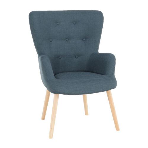 Modern fotel szürkés-zöld BRANDO