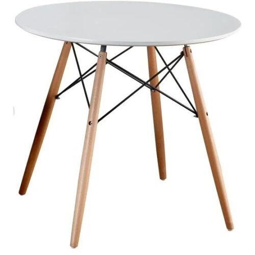 Étkezőasztal  fehér bükk GAMIN NEW 90