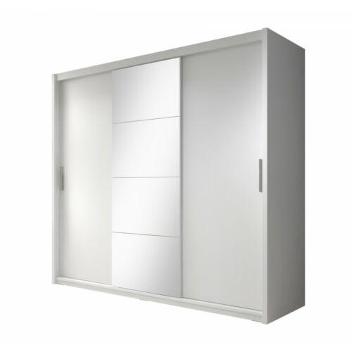 Szekrény DIEGO 235 fehér matt