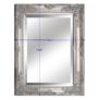 Kép 3/3 - Tükör ezüst színű fakerettel, MALKIA TYP 6