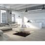 Kép 8/8 - Luxus bőrszőnyeg, fehér/barna /fekete, patchwork, 120x180, bőr TIP 7