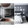 Kép 7/8 - Luxus bőrszőnyeg, fehér/barna /fekete, patchwork, 120x180, bőr TIP 7