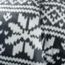 Kép 14/14 - Kétoldalas bárány takaró, téli motívum, 150x200, MALENA