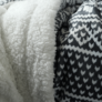 Kép 2/14 - Kétoldalas bárány takaró, téli motívum, 150x200, MALENA
