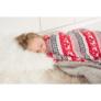 Kép 17/17 - Kétoldalas bárány takaró, téli motívum, 150x200, RENIFE