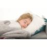 Kép 15/17 - Kétoldalas bárány takaró, téli motívum, 150x200, RENIFE