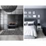 Kép 2/9 - Luxus bőrszőnyeg, barna /fekete/fehér, patchwork, 141x200, bőr TIP 6