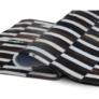 Kép 6/9 - Luxus bőrszőnyeg, barna /fekete/fehér, patchwork, 141x200, bőr TIP 6