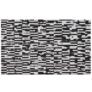 Kép 8/9 - Luxus bőrszőnyeg, barna /fekete/fehér, patchwork, 141x200, bőr TIP 6