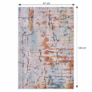 Kép 2/3 - Szőnyeg, sokszínű, 67x120 cm, TAREOK
