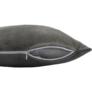 Kép 7/14 - Párna, bársony anyag szürkésbarna Taupe, 45x45, ALITA TYP 3